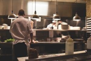 kitchen, work, restaurant